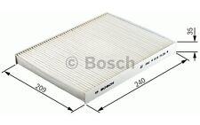 BOSCH Filtro, aire habitáculo FORD FOCUS MONDEO C-MAX S-MAX KUGA 1 987 432 409