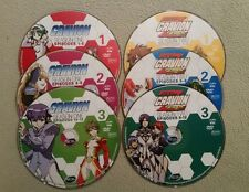 Gravion and Gravion Zwei: Season 1 & 2 - Anime DVDs - 6 Loose Discs Only - VG