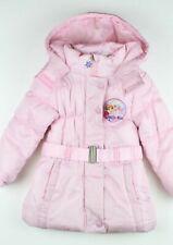manteau Reine des Neiges 2 rose pâle 6 ans