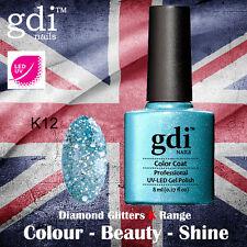 UK SELLER Gdi Nails Diamond Glitters K12 UV/LED Gel Soak Off nail polish
