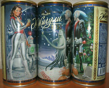 """Zhiguli Limited Pin Up """"New year on Aldebaran"""", empty can Beer Russian, 1L"""