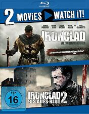 2 Blu-rays * 2 MOVIES - IRONCLAD 1 & 2 # NEU OVP §