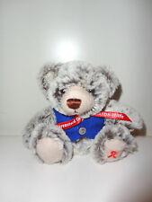 AIDS Hilfe - Teddybär - 2015 - von Clemens - mit Schleife auf der Pfote