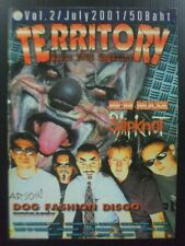 2001 Dog Fashion Disco Downer Fear Factory Slipknot Immortal Dark Funeral Rare!