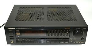 Vintage PIONEER VSX-401 Audio/Video Stereo Receiver (Black) Made in Japan