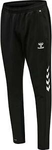 Hummel Trainingshose Jogginghose Sport Hose lang mit Reißverschlusstaschen