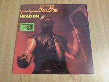 SAMSON - HEAD ON - INSERT - UK A1/B1 (NO PATCH) -  EXCELLENT