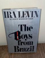 THE BOYS FROM BRAZIL -- IRA LEVIN -- 1ST EDITION RANDOM HOUSE 1976 -- VG