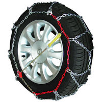 "Sumex Husky Winter Professional 16mm 4WD Snow Chains for 15"" Car Wheel Tyres x 2"