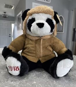 NWT Sears & Roebuck 2018 Cuddly Classics Large Plush Panda Bear Gift/Collection