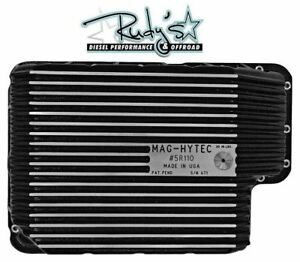 Mag-Hytec F5R110W Transmission Pan For Ford Powerstroke Diesel 6.4L 08-10