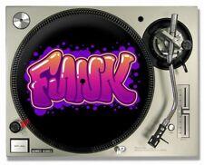 Funk Hip Hop Graffiti Stile-giradischi/DJ SLIPMAT - (COPPIA)