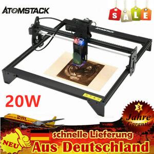 ATOMSTACK 20W Desktop Laser-Graviermaschine DIY Marke Engraving *