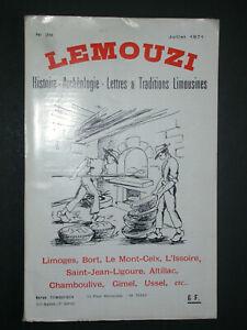 Lemouzi 71 - Gisement de la Croix du Mas - Rivière Issoire - Nuages P. des Anges
