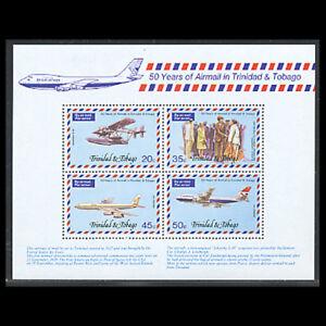 Trinidad & Tobago, Sc #271a, MNH, 1977, S/S, Aircraft, Aviation, A5IDD-9