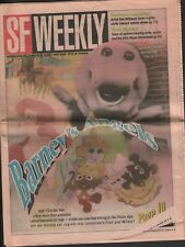 SF Weekly August 4 1993 Barney TMNT Billy Nayer 052218DBE2