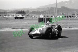 1960 CSCC racing Photo negative Jim Connor Maserati race car Santa Barbra, CA.