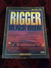 Shadowrun Rigger Black Book - FASA 7108