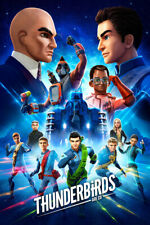 Thunderbirds Are Go Science Fiction Tv Series Art Room Poster - Poster 24x36