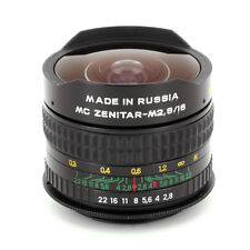 FISHEYE ZENITAR M 2.8/16mm LENS PENTAX M42 SCREW MOUNT