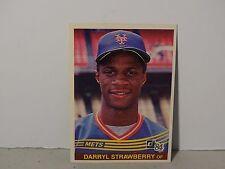 1984 Donruss  Darryl Strawberry # 68 Rookie Card