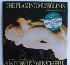 """THE FLAMING MUSSOLINIS - DIFFERENT KIND OF LOVE.1987 7"""" Vinyl. MUZ 2"""