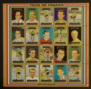 Weltweit:  Ajman / Manama - Tour de France.  Postfrisch.