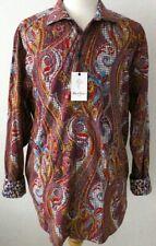 Robert Graham Mens Classic Fit CHESTNUTS Sport Paisley Shirt Size 1XL - NWT $355