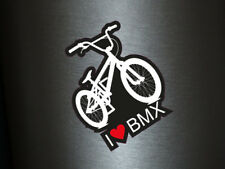 1 x Aufkleber I Love BMX Fahrrad Rad WM Style Tuning Sticker Fun Gag Decal OEM