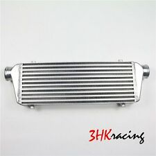 """26x8x2.5 2.5"""" Inlet & Outlet  Universal Bar&Plate Front Mount Turbo Intercooler"""