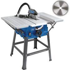 Scheppach Tischkreissäge HS100S 2000 W, mit Untergestell, 2 Tischverbreiterungen
