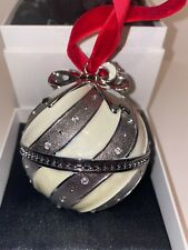 Retired 2018 Pandora White Christmas NYC Rockettes Ornament & Charm