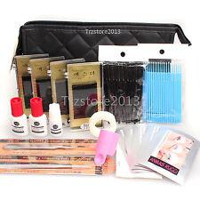 Lash Starter Makeup Kit Pro Semi Permanent Individual Eyelash Extensions C Curl