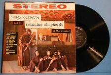 BUDDY COLLETTE & HIS SWINGING SHEPHERDS AT THE CINEMA VINYL LP '59 ORIG VG/VG+!!
