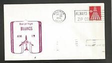 FIRST FLIGHT AM 19 BILLINGS MONT OCT 19,1968
