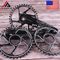 JESSICA GXP 170mm Crankset 32/34/36/38T Chainring MTB Bike Crank Chainwheel CNC