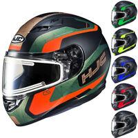 HJC CS-R3 Dosta Dual Lens Mens Sled Winter DOT Snowmobile Helmets