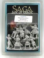 SAGA SSM04 Shieldmaiden Warriors (Age of Magic) Female Barbarians Viking Raiders