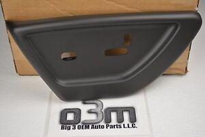 2006 - 2009 Chevrolet Trailblazer Drivers black Power Seat switch COVER new OEM
