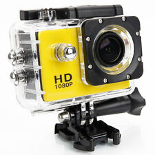 HD 720P Camcorder Helmet Sports Full DV Car Action Waterproof for SJ4000 Yellow