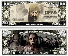 The WALKING DEAD BILLET MILLION DOLLAR US Série Zombie Mort Vivant TV bd Horreur