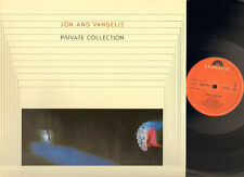 JON & and VANGELIS Private Collection LP 1983 HORIZON LYRICS Jon Anderson YES