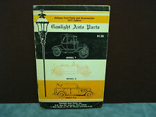 """GASLIGHT AUTO PARTS""  ANTIQUE FORD PARTS AND ACCESSORIES 1977 EDITION"