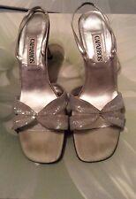Caparros SEAFOAM SEQUINED  Evening Sandals Heels Size 10