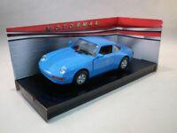 Motormax Porsche 911 (993) Blue, Classic Metal Model Car, 1:24 Scale