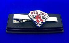 Red Sox Tie Clip Boston Red Sox Baseball Diamond Tie Bar Sports Team US Seller