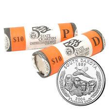 2006 South Dakota US Mint Government Rolls Philadelphia & Denver