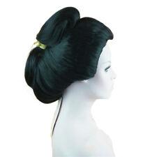 StrongBeauty Japanese Geisha wig Cosplay Wig Synthetic Hair Flaxen Hair Wig