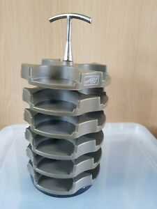 Stampin Up Embellishment Storage  rotating carousel caddy. Holds 24 pots.