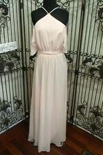 D620 BILL LEVKOFF PETAL PINK 1551 SZ 12 FORMAL BRIDESMAID PROM FORMAL GOWN DRESS